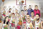 Gli atleti della Bic Reggio ritratti da Antonio Federico