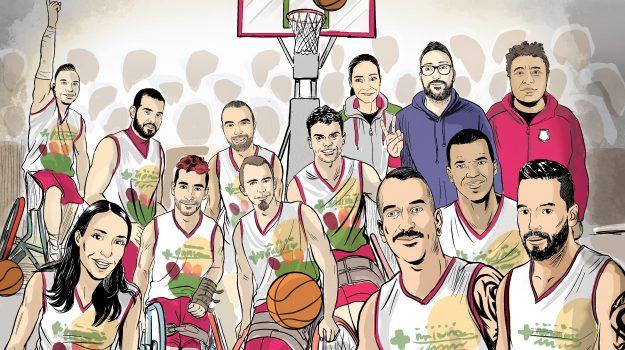 basket in carrozzina, serie a, Antonio Federico, Reggio, Sport