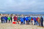 Reggio, raccolti nella spiaggia di Catona 20 quintali di spazzatura