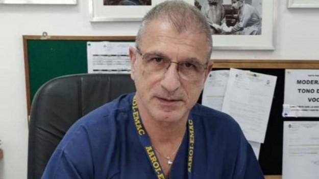 anestesista, coronavirus, Gom Reggio, Domenico Minniti, Calabria, Cronaca