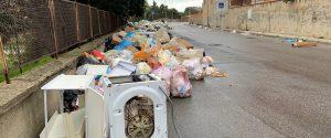 Spazzatura nelle strade di Reggio Calabria
