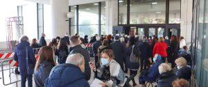 Scoppia il caos a Palazzo Campanella per la vaccinazione anticovid degli anziani