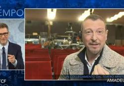 """Sanremo, Amadeus: """"Loredana Bertè sarà con noi durante la prima puntata"""" Il presentatore ospite di Fabio Fazio a """"Che tempo che fa"""" - Ansa"""