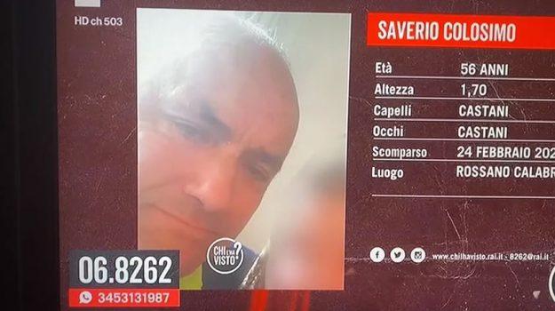 saverio colosimo, Cosenza, Cronaca