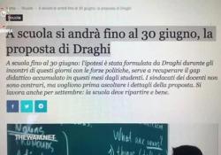Scuola fino al 30 giugno, il 95% degli studenti dice no - Corriere Tv