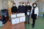 Torre Melissa, il Kiwanis consegna mascherine chirurgiche alle scuole