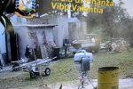 Le bare venivano trasportate in uno spiazzo attiguo al camposanto di Tropea nel cassone di una motoape e venivano distrutte
