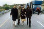 Verdone insieme a Brega, Angelo Infanti e Irina Sanpiter