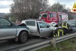 Ionadi, scontro fra auto sulla statale 18: tre feriti
