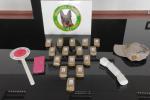 Reggio, corriere della droga arrestato a Villa: sequestrati 1,5kg di hashish destinati alla Sicilia