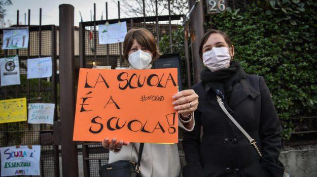 dad, didattica a distanza, sciopero, scuola, Sicilia, Cronaca