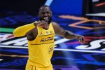Basket: All Star Game Nba, LeBron stravince contro Durant FOTO