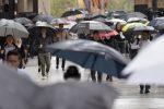 La perturbazione arriva al Sud: fine settimana di pioggia nel Messinese