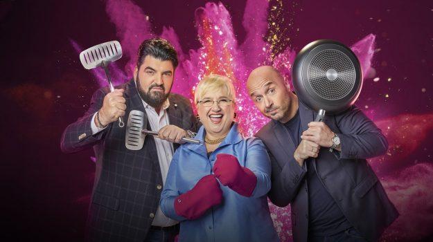 Cooking Show, Sicilia, Televisione