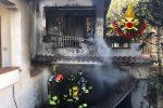 Incendio in una abitazione a Guardavalle Marina, i proprietari si mettono in salvo