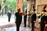 """Il comandante generale dei Carabinieri, Teo Luzi, in visita al """"Culqualber"""""""