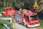 Messina, vasto incendio a Castanea vicino al canile: in fiamme vegetazione e anche amianto