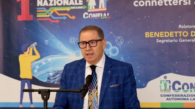segretario generale Confial, Benedetto Di Iacovo, Cosenza, Società