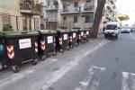 Messina, via i cassonetti dall'area Centro: ecco le strade interessate