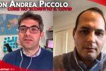 """Cosenza, don Piccolo guarito dal Covid: """"Ho temuto di morire. Siate prudenti, vaccinatevi"""" - VIDEO"""