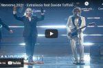 """Extraliscio feat Davide Toffolo cantano """"Bianca luce nera"""" a Sanremo 2021 - VIDEO"""