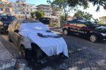 Messina, grave intimidazione a Forza d'Agrò. In fiamme la macchina del maresciallo