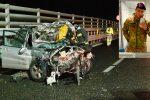 Messina, gravissimo incidente sulla A20 poco prima di Villafranca. Muore giovane sceso per prestare soccorso