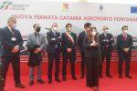 Catania, inaugurata la fermata ferroviaria Aeroporto-Fontanarossa