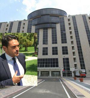 Il candidato del Pd alla Regione, Nicola Irto