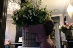 Lady Gaga, per lei ungigantesco mazzo di fiori a Roma