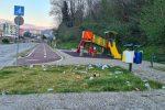 Cosenza, il parco fluviale è un ricettacolo di rifiuti e... indifferenza - FOTO