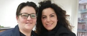 Maria Ammirata e Melina Merli