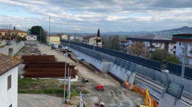 lavori ferrovia, taverna montalto uffugo, Bianca Verbeni, Pietro Caracciolo, Cosenza, Cronaca