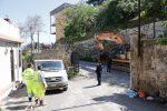 Messina, Salita Contino: avviati i lavori di ampliamento