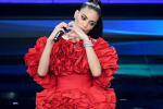 Sanremo, le lacrime di Elodie: «Non sempre bisogna sentirsi all