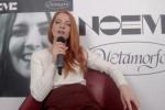 """Sanremo 2021, Noemi buona la prima: """"Metamorfosi che nasce dalla mia testa"""""""