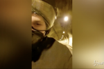 "Sanremo, Ibrahimovic: ""Sono venuto in autostop in moto"" VIDEO"