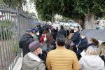 Messina, disagi per i vaccini e lunghe file in fiera FOTO