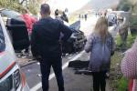 Vibo, grave incidente sulla Statale 18. Feriti 4 componenti di una famiglia