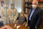 """Vaccini a domicilio a Messina, la prima è la signora Francesca: """"E' indispensabile, fatelo anche voi"""""""