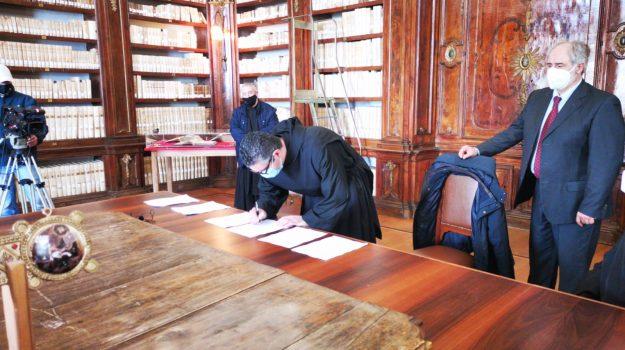biblioteca nazionale cosenza, santuario paola, Cosenza, Cronaca