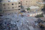 Crolla un palazzo a Il Cairo: almeno 8 morti e 24 feriti