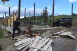 Crucoli, sequestrata costruzione abusiva. Due denunce