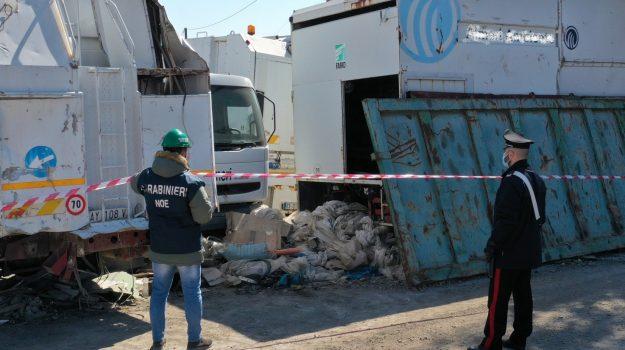 area sequestrata, carabinieri noe, catanmzaro, gestione illecita rifiuti, una denuncia, Catanzaro, Cronaca