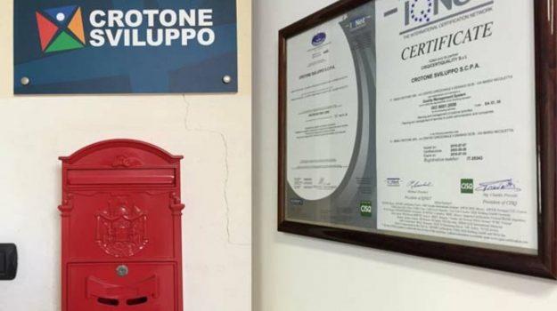 Crotone Sviluppo, Enzo Zizza, Fabrizio Ambrosio, Salvatore Federico, vincenzo voce, Catanzaro, Cronaca