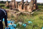 Curinga, i ruderi delle Terme romane oltraggiati da rifiuti