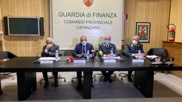Vincenzo Capomolla, Nicola Gratteri, Dario Solombrino e Carmine Virno