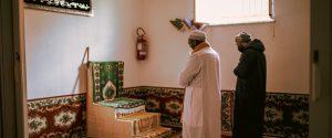 Khalid Elsheikh e Antonio Omar Carioti in preghiera