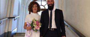 Roberta-Munira e Antonio-Omar il giorno del matrimonio
