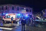 Messina, violenta carambola in via Garibaldi. Due i feriti trasferiti in ospedale